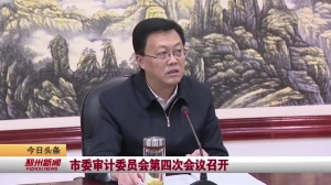 视频新闻|市委审计委员会第四次会议召开