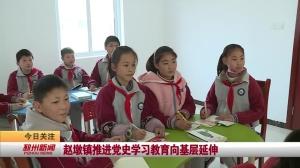 视频新闻丨赵墩镇推进党史学习教育向基层延伸
