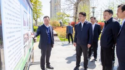 曹智调研国省考断面水环境和省控大气监测站点工作