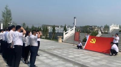 传承精神、汲取力量,邳州生态环境局党史学习入脑入心