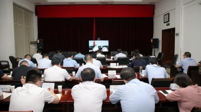 邳州收听收看徐州市疫情防控工作视频调度会议