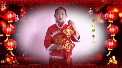 2018邳州福娃拜年视频
